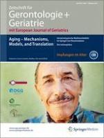 Zeitschrift für Gerontologie und Geriatrie 7/2013