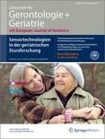 Zeitschrift für Gerontologie und Geriatrie 8/2013