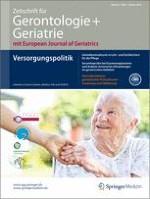 Zeitschrift für Gerontologie und Geriatrie 1/2014