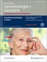Zeitschrift für Gerontologie und Geriatrie 3/2014