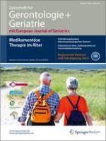 Zeitschrift für Gerontologie und Geriatrie 4/2014