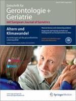 Zeitschrift für Gerontologie und Geriatrie 6/2014