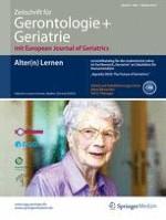 Zeitschrift für Gerontologie und Geriatrie 7/2014