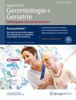 Zeitschrift für Gerontologie und Geriatrie 1/2015
