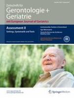 Zeitschrift für Gerontologie und Geriatrie 2/2015