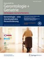 Zeitschrift für Gerontologie und Geriatrie 3/2015