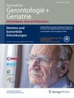 Zeitschrift für Gerontologie und Geriatrie 4/2015