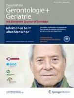 Zeitschrift für Gerontologie und Geriatrie 7/2015