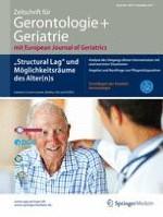 Zeitschrift für Gerontologie und Geriatrie 8/2015