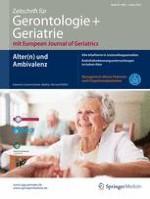 Zeitschrift für Gerontologie und Geriatrie 1/2016