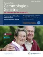 Zeitschrift für Gerontologie und Geriatrie 3/2016