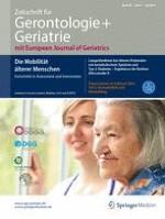Zeitschrift für Gerontologie und Geriatrie 5/2016