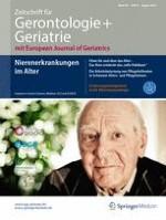 Zeitschrift für Gerontologie und Geriatrie 6/2016