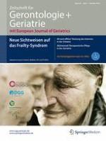 Zeitschrift für Gerontologie und Geriatrie 7/2016