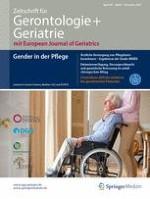 Zeitschrift für Gerontologie und Geriatrie 8/2016
