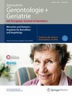 Zeitschrift für Gerontologie und Geriatrie 1/2017