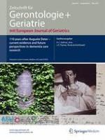 Zeitschrift für Gerontologie und Geriatrie 2/2017
