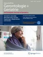 Zeitschrift für Gerontologie und Geriatrie 1/2018