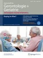 Zeitschrift für Gerontologie und Geriatrie 2/2018