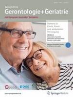 Zeitschrift für Gerontologie und Geriatrie 5/2018