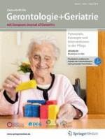 Zeitschrift für Gerontologie und Geriatrie 6/2018