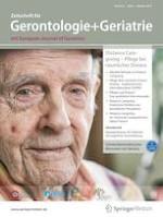 Zeitschrift für Gerontologie und Geriatrie 6/2019