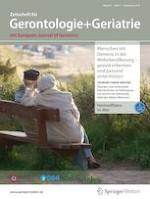 Zeitschrift für Gerontologie und Geriatrie 7/2019