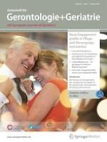 Zeitschrift für Gerontologie und Geriatrie 1/2021