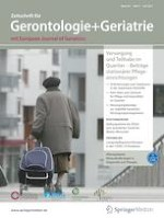 Zeitschrift für Gerontologie und Geriatrie 4/2021
