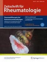 Zeitschrift für Rheumatologie 8/2016