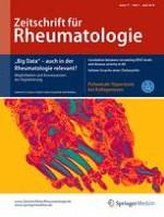 Zeitschrift für Rheumatologie 3/2018