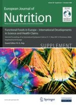 European Journal of Nutrition 1/2009