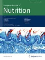European Journal of Nutrition 1/2013