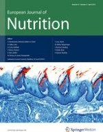 European Journal of Nutrition 3/2013