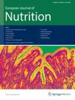 European Journal of Nutrition 4/2014