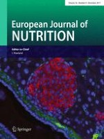 European Journal of Nutrition 8/2017