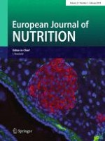 European Journal of Nutrition 1/2018