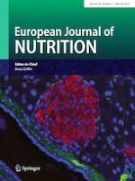 European Journal of Nutrition 1/2019