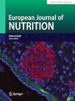 European Journal of Nutrition 5/2019