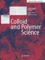 Colloid and Polymer Science 8/2017