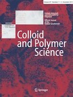 Colloid and Polymer Science 11-12/2019