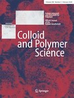 Colloid and Polymer Science 2/2020