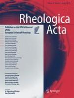 Rheologica Acta 1/2014
