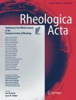 Rheologica Acta 7-8/2017