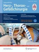 Zeitschrift für Herz-,Thorax- und Gefäßchirurgie 2/2016
