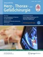 Zeitschrift für Herz-,Thorax- und Gefäßchirurgie 3/2016