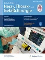 Zeitschrift für Herz-,Thorax- und Gefäßchirurgie 3/2017
