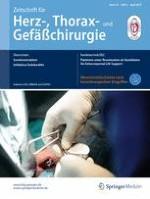 Zeitschrift für Herz-,Thorax- und Gefäßchirurgie 2/2018