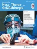 Zeitschrift für Herz-,Thorax- und Gefäßchirurgie 4/2019