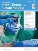 Zeitschrift für Herz-,Thorax- und Gefäßchirurgie 3/2020